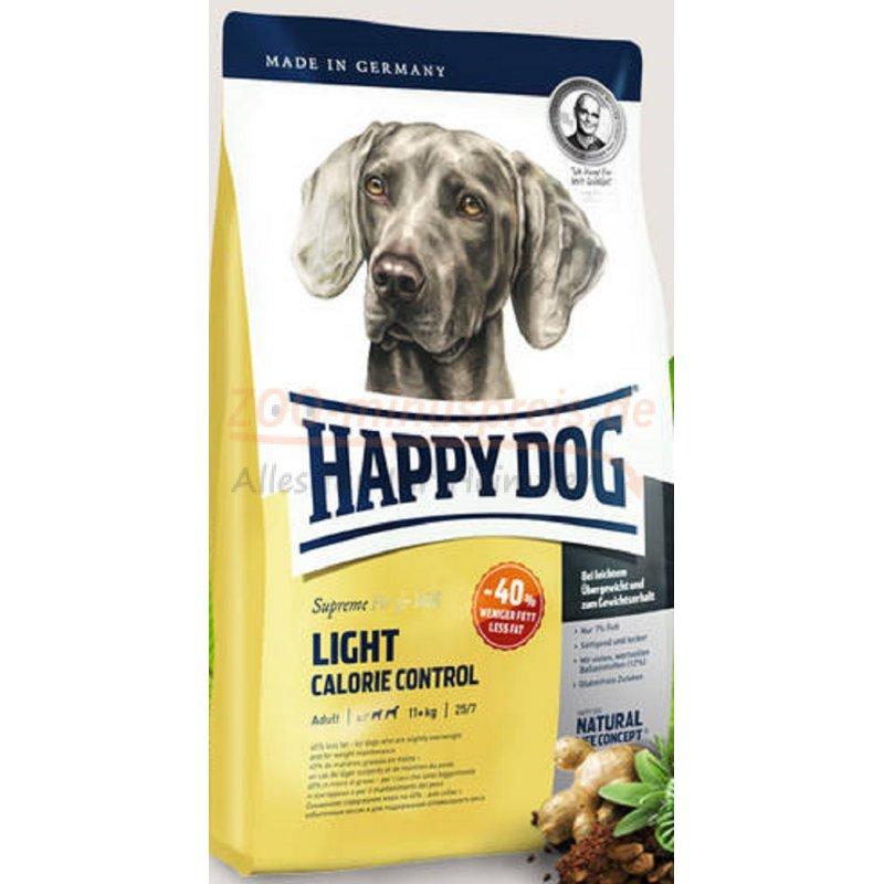 hundefutter happy dog light calorie control 12 5 kg die perfekte nahrung f r zu bergewicht. Black Bedroom Furniture Sets. Home Design Ideas