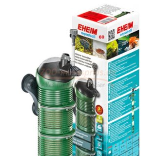 Aquarium Filter EHEIM Aquaball 60 / 2401. Der flexible modulare Innenfilter.