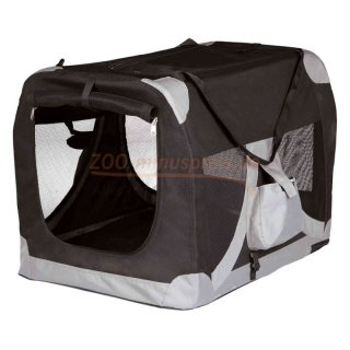 Hunde Transporttasche / Box, mobile Kennel Höhe 50  x 70 x 50 cm